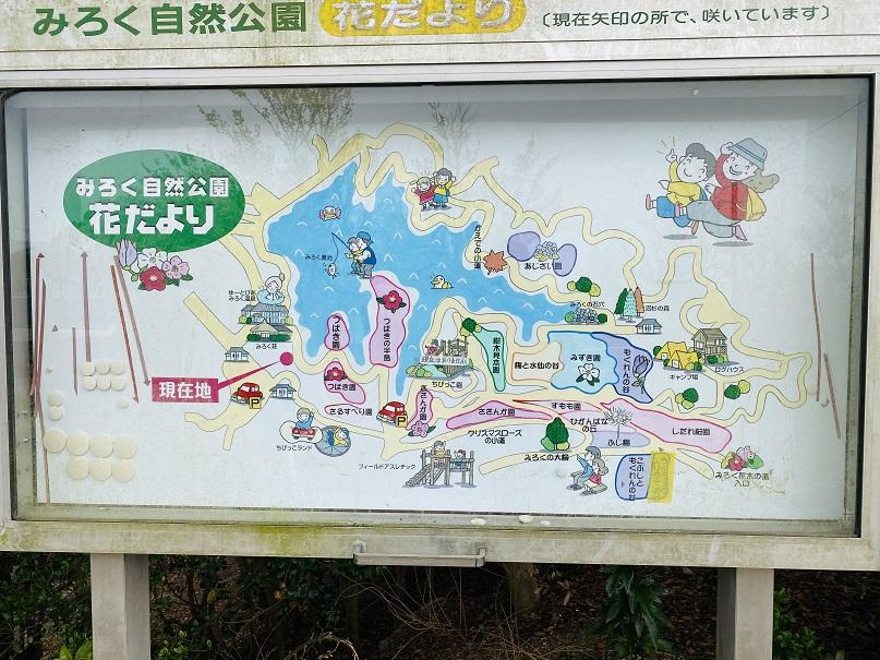 花木園案内みろく自然公園