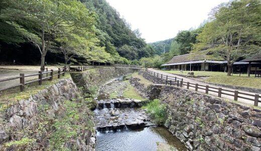 奥の湯ふれあいの里公園キャンプ場 内場川の川遊び 高松市