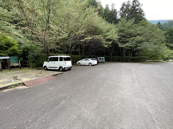 大滝山県民いこいの森 第2キャンプ場 駐車場