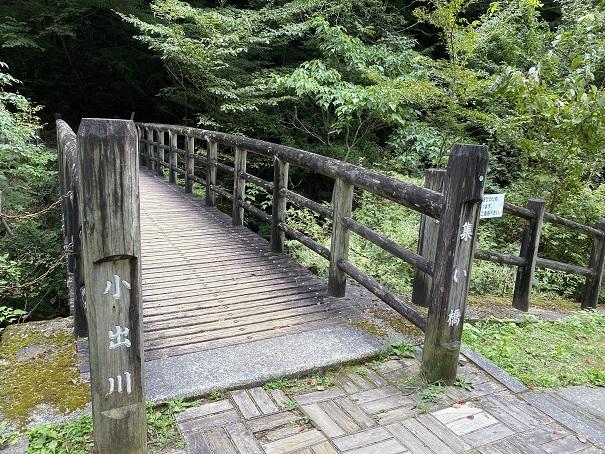 大滝山県民いこいの森 第2キャンプ場 橋
