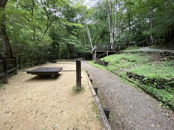 大滝山県民いこいの森 第2キャンプ場キャンプサイト