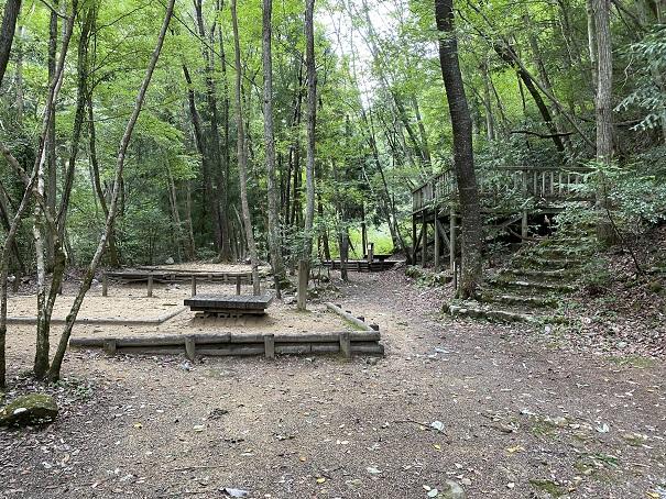大滝山県民いこいの森 第2キャンプ場