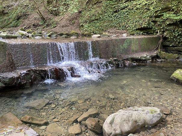 大滝山県民いこいの森 第1キャンプ場 川遊び2