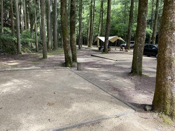 大滝山県民いこいの森 第1キャンプ場