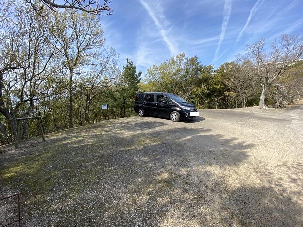 城山桜公園 駐車場1