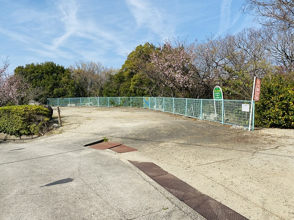 城山桜公園 駐車場2