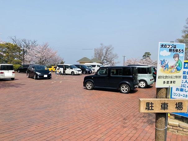 桃陵公園 駐車場1