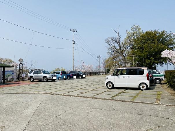 県立桃陵公園 駐車場2