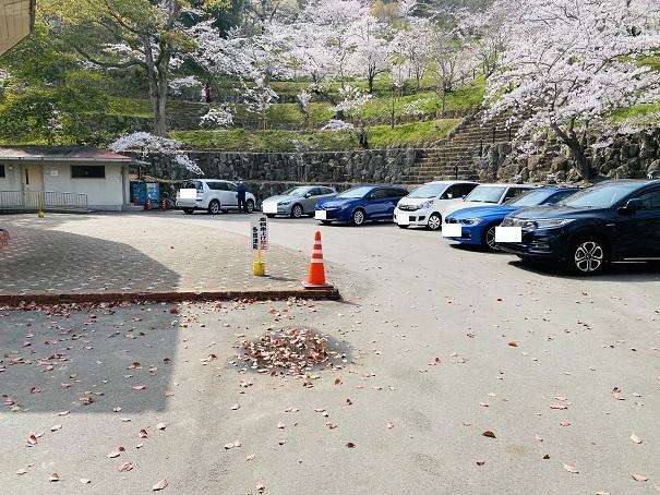 県立桃陵公園 駐車場3