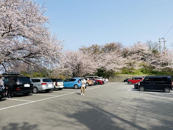 紫雲出山 第1駐車場