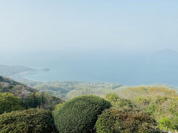 紫雲出山絶景カフェ 眺望