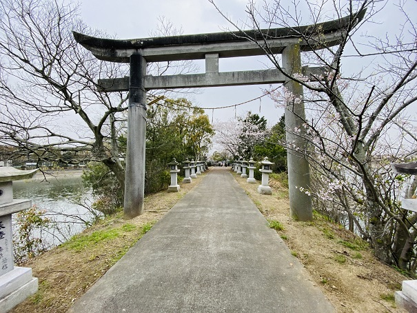 竜桜公園 鳥居