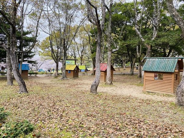公渕森林公園 小屋