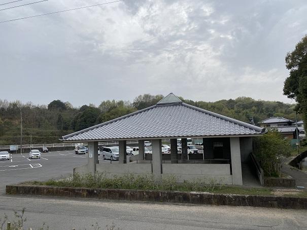 県立亀鶴公園 駐車場2