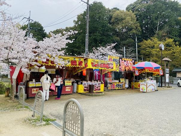 亀鶴公園 屋台