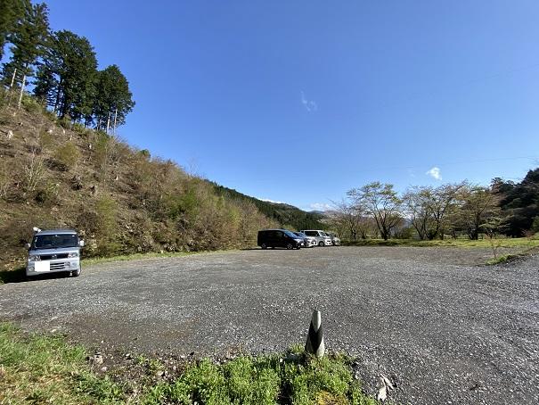 フォレストアドベンチャー・高知 駐車場