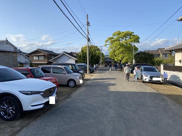 岩田神社 駐車場