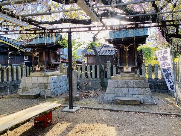 岩田神社 天満神社・金刀比羅神社