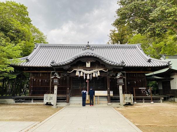 岩田神社 拝殿