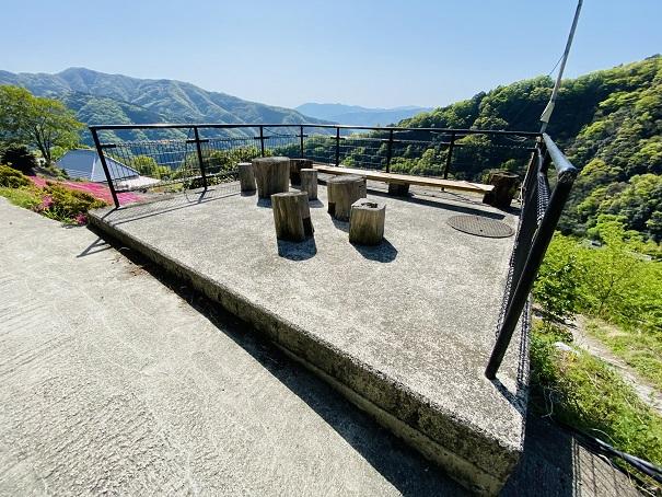 入倉の芝桜 展望台