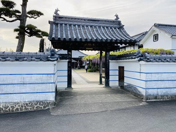 萬福寺 入口
