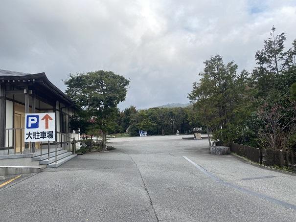 霊山寺 駐車場1