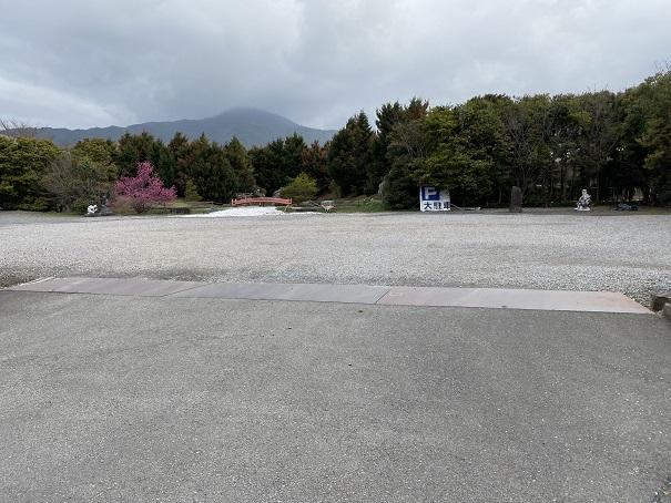 霊山寺 駐車場2