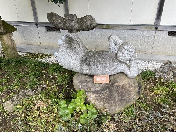 霊山寺 石像1