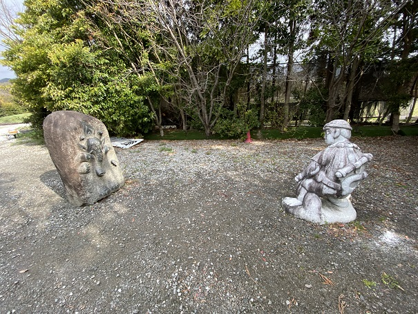霊山寺 石像4