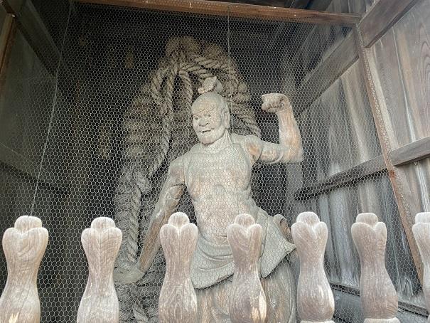 霊山寺 金剛力士像