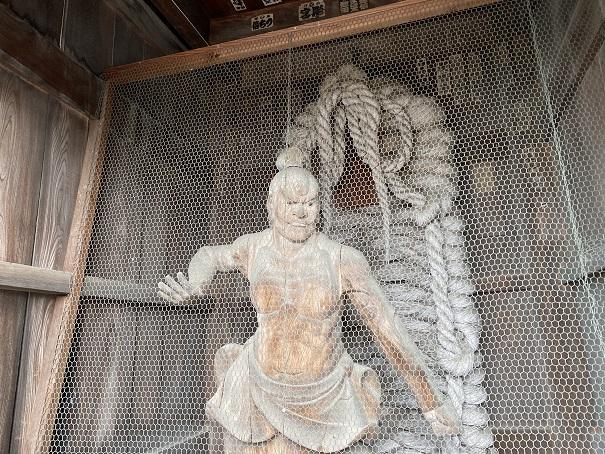 霊山寺 金剛力士像吽形