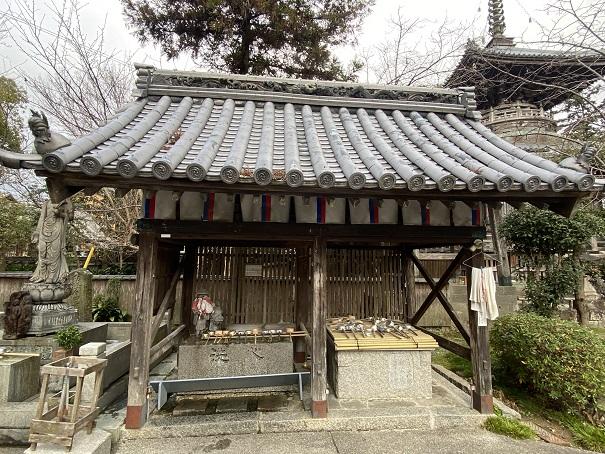 霊山寺 手水舎