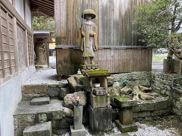 霊山寺 修行大師像