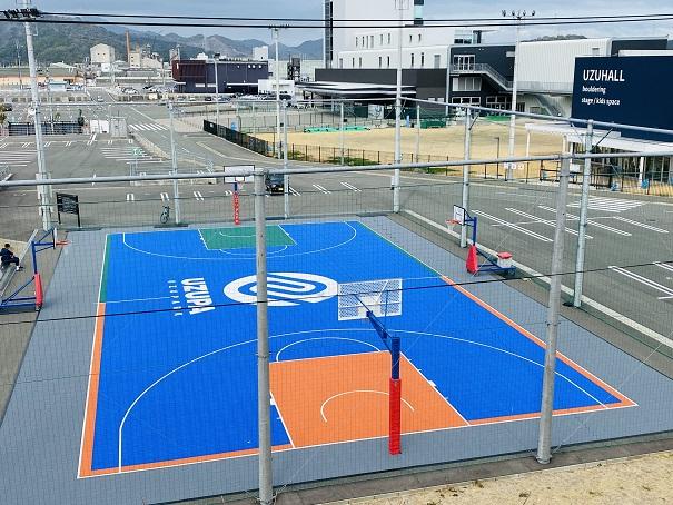 ウズパーク バスケットボールコート
