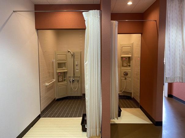 ウズパーク シャワー室