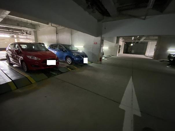 アオアヲナルトリゾート 駐車場