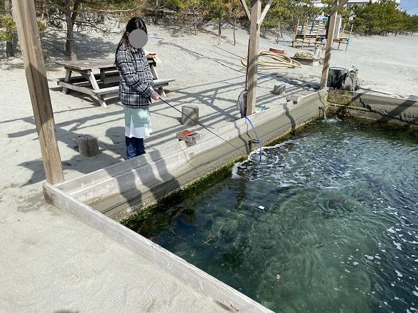 アオアヲナルトリゾート 釣り堀体験