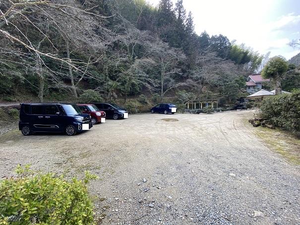 竹山荘 駐車場
