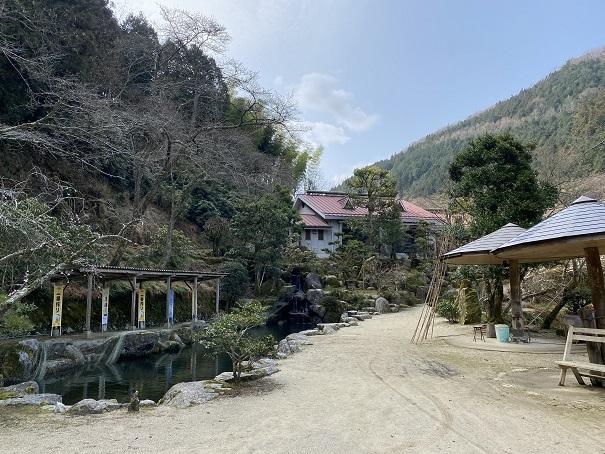 竹山荘 庭1