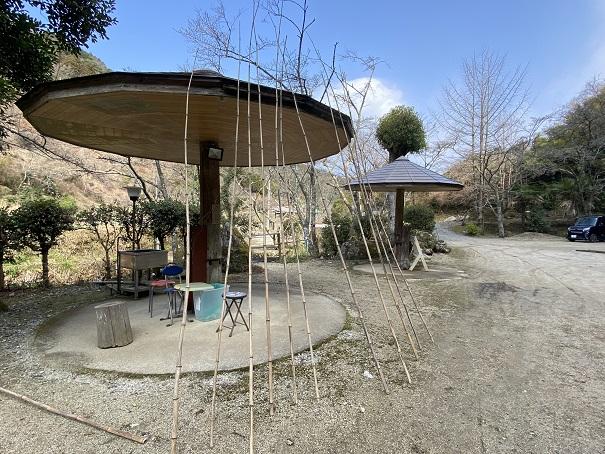 竹山荘 釣り竿
