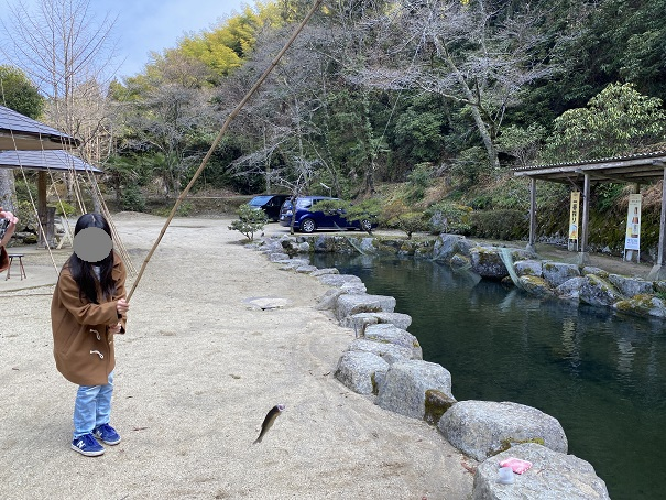 竹山荘 釣れた