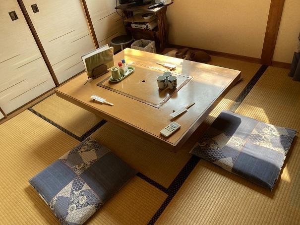 竹山荘 食事部屋