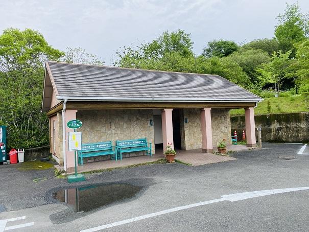 モネの庭 駐車場のトイレ