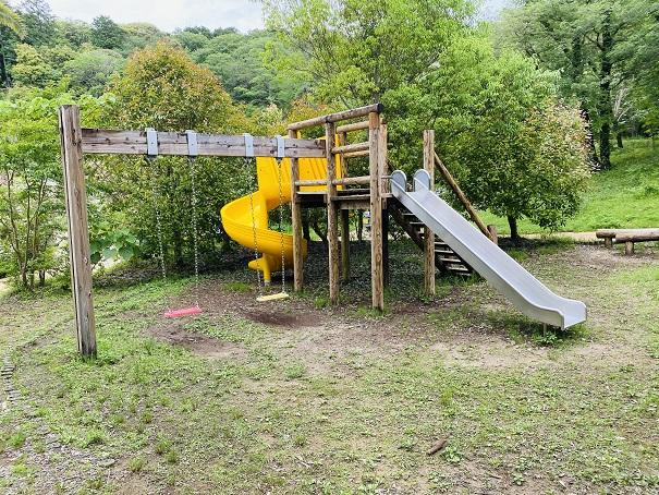 モネの庭 遊びの森滑り台