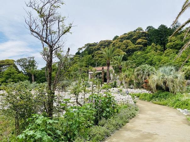 モネの庭 ボルディゲラの庭リヴィエラ小屋