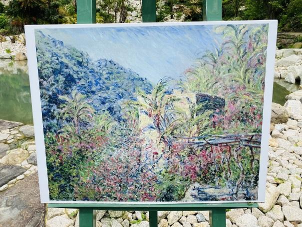 モネの庭 ボルディゲラの庭 作品2