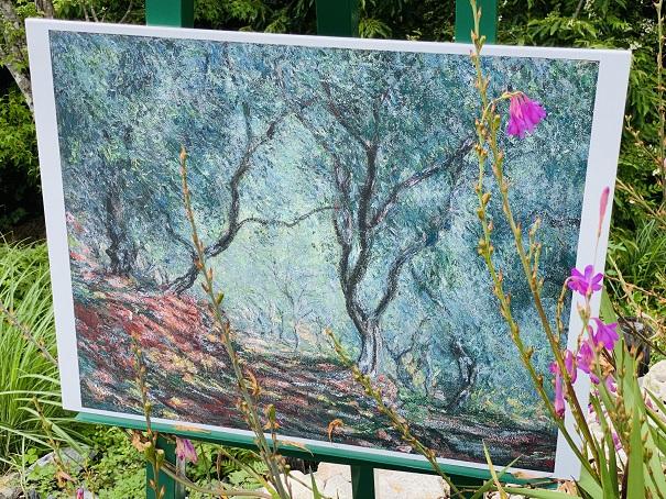 モネの庭 ボルディゲラの庭 作品3