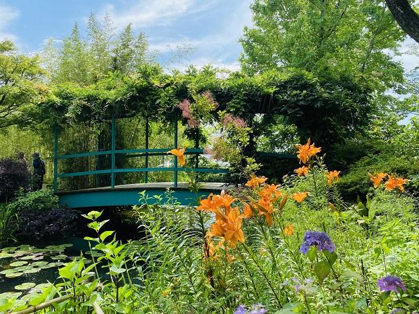 モネの庭 水の庭 アーチ橋
