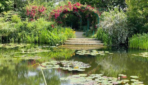 北川村 [モネの庭]マルモッタン 絵の世界に入り込む 高知県