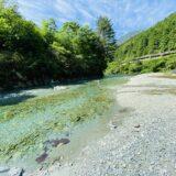谷川川遊びポイント